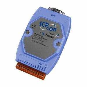 I-7188XC-512 PC-совместимый промышленный контроллер 20МГц, 512кб Flash, 128кб SRAM, шина расширения, 3xDI/3xDO, 1xRS485, 1xRS232/485, MiniOS7, кабель CA-0910Fx1
