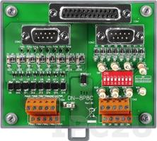 DN-8P8C-CA Ввыносная плата, 8 каналов дискретного вывода, 8 каналов ввода счетчика, с 2 кабелями CA-090910-A и 2 разъемами CA-3813