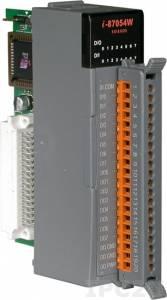 I-87054W Высокопрофильный модуль дискретного ввода-вывода с изоляцией, 8 каналов входа и 8 каналов выхода