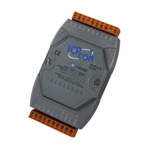 M-7059D-G Модуль ввода, 8 каналов дискретного ввода АС, c изоляцией до 5000 В и индикацией, Modbus RTU