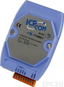I-7188E1 Программируемый Преобразователь последовательных интерфейсов, 1xRS-232