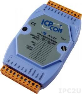 I-7017C Модуль ввода, 8 каналов аналогового ввода, -20...+20 mA