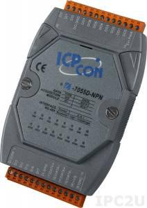 I-7055-NPN Модуль ввода - вывода, 8 каналов дискретного ввода / 8 каналов дискретного вывода, с изоляцией до 3750В