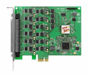 PEX-D96S PCI Express адаптер, 96 каналов дискретного ввода-вывода TTL, RoHS