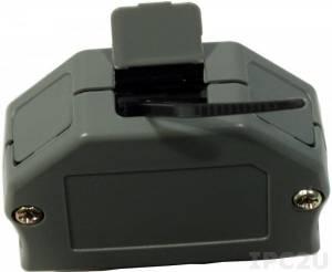 CA-3813 Пластиковая крышка для разъема 13-pin 3.81мм и 14 pin 3.5мм (без разъема)