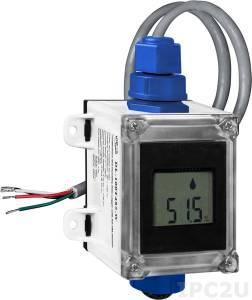 DL-100T485-W Модуль для измерения температуры и влажности с визуализацией и протоколированием данных, RS485, DCON, белый корпус, RoHS