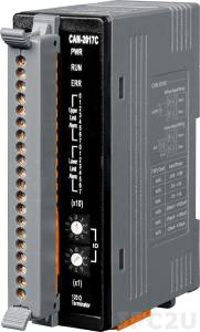 CAN-2017C Модуль ввода, 8 каналов аналогового ввода , АЦП 16 бит, CANopen Slave