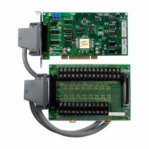 PCI-1002LU/S Многофункциональный адаптер Universal PCI, 32SE/16D каналов АЦП, 16DI, 16DO, таймер, разъем СА-4002x1, плата клеммников DB-1825