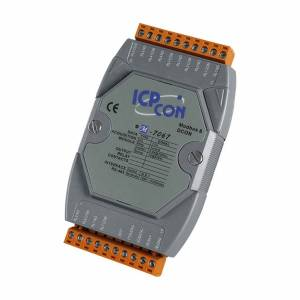 M-7067 Модуль вывода, 7 каналов релейного вывода, c изоляцией до 3750 В, Modbus RTU