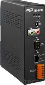 M-4132 Преобразователь устройств с возможностью передачи голоса, Ethernet, 1xRS-232, 1xRS-485, Audio In-OUT