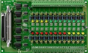 DB-24PD Выносная плата 24 дискретных входов AC/DC с изоляцией, совместима с Opto-22, разъем DB37