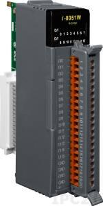 I-8051W Высокопрофильный модуль ввода, 16 каналов дискретного ввода, сухой контакт, без с изоляции, параллельная шина