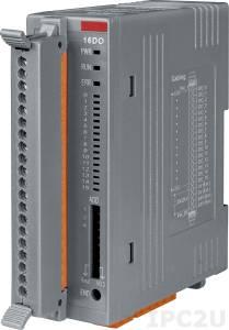 FR-2057TA Модуль вывода, 16-каналов изолированного дискретного вывода, Источник, клеммная колодка, FRnet