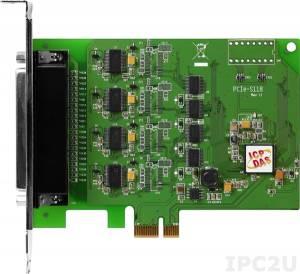 PCIe-S118 PCI Express адаптер 8xRS-232 115.2кбод