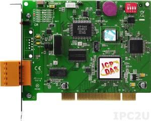 PISO-CPM100U-T 1-портовый Universal PCI адаптер интерфейса CANopen, 5-конт. винтовая клемма