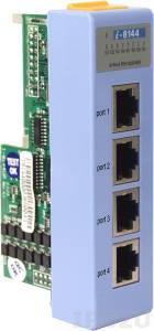 I-8144 Низкопрофильный коммуникационный 4-х канальный модуль RS-422/485