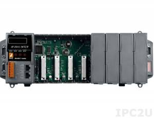 iP-8841-MTCP Программируемая корзина расширения для модулей I-87K/I-8K, 80Мгц, 512кб Flash, 768кб SRAM, 2xLAN, 2xRS232, 1xRS485, 1xRS232/485, 7-сегментный индикатор, Mini OS7, 8 слотов расширения, протокол Modbus TCP/RTU