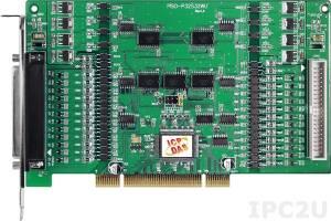 PISO-P32S32WU 64-канальный PCI адаптер дискретного ввода-вывода (32DI, 32-DO) с гальванической изоляцией
