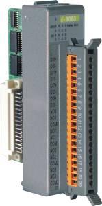 I-8063-G Низкопрофильный модуль ввода - вывода, 4 канала дискретного ввода / 4 канала релейного вывода, с изоляцией до 3750В, параллельная шина