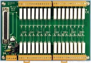 DN-8K32R Плата реле, 32 реле(250Vac/30Vdc5A/270Vac), с разъемом DB-37 и кабелем
