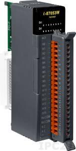 I-87053W-AC1 Высокопрофильный 16-канальный модуль дискретного ввода переменного тока с изоляцией и 16-битным счетчиком