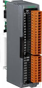 I-87005W Высокопрофильный модуль 8-канального ввода термисторов и 8-канального дискретного вывода (цвет серый)