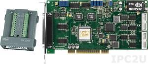 PCI-1202LU/S Многофункциональный адаптер PCI, 32SE/16D каналов АЦП, FIFO, 2 канала ЦАП, 16DI, 16DO, таймер, разъем СА-4002x1