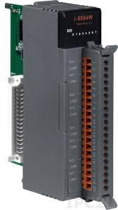 I-8064W Высокопрофильный модуль вывода, 8 каналов мощного релейного вывода, с изоляцией до 2000В, параллельная шина