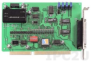 ISO-813/S Адаптер ISA, 32SE каналов АЦП с изоляцией, плата клеммников DB-8325