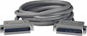 CA-3720D Кабель DB-37 Male в Male D-sub, 2 М, ПВХ, до 15В, кабель под углом 90 к плате