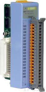 I-8060 Низкопрофильный модуль вывода, 6 каналов релейного вывода, с изоляцией до 1500В, параллельная шина