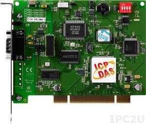 PISO-DNS100U-D 1-портовый Universal PCI адаптер интерфейса DeviceNet, разъем 9-конт. D-sub