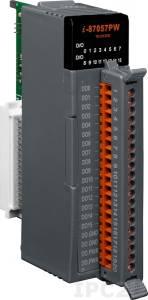 I-87057PW Высокопрофильный 16-канальный модуль дискретного вывода c изоляцией
