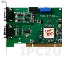 VXC-182iAU CR PCI адаптер 1xRS-232, 1xRS-422/485 115.2кбод c гальванической изоляцией