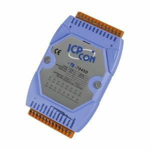 I-7045D Модуль вывода, 16 каналов дискретного вывода, c изоляцией до 3750 В и индикацией