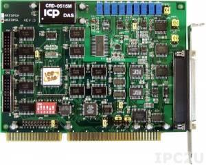 A-823PGL Многофункциональный адаптер ISA, 16SE/8D каналов АЦП, 2 канала ЦАП, 16DI, 16DO, таймер