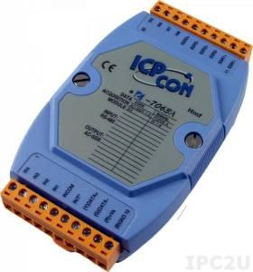 I-7063A Модуль ввода - вывода, 3 канала вывода с твердотельного реле / 8 каналов дискретного ввода, c изоляцией до 3750 В