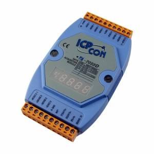 I-7013D Модуль ввода, 1 канал ввода сигнала с термосопротивления: Pt100, Pt1000, Ni120, с индикацией