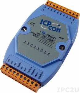 I-7052D Модуль ввода, 8 каналов дискретного ввода, c изоляцией до 3750 В и индикацией