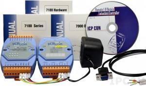 IKIT-07 I-7188D/DOS + I-7060 + источник питания KWM020-1824F, С комплектом драйверов NAP