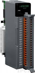 I-87017ZW Высокопрофильный модуль ввода, 10/20 каналов аналогового ввода, 16-бит, защита от перенапряжения до 240 В, последовательная шина
