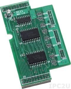 X111 13-канальный модуль дискретного вывода для I-7188XB/EX