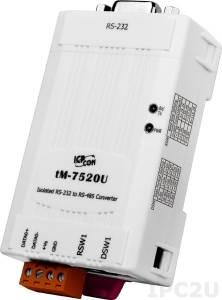 tM-7520U Конвертер RS-232 в RS-485, изоляция