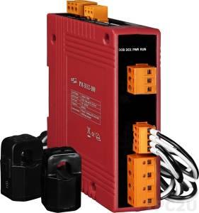 PM-3112-100-MTCP 2-канальный, 1-фазный компактный измеритель напряжения и тока, CT:2pcs, кабель 10мм (0-60A), до 300 В, 50/60Гц, Modbus TCP