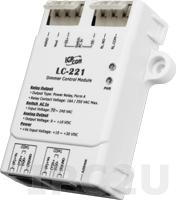 LC-221 Модуль управления освещением, функция управления диммером, 1-канал аналогового выхода, 1 канал дискретного ввода, 1 канала релейного вывода, DCON, Modbus RTU