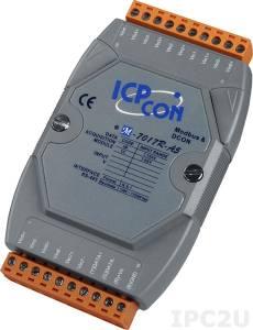 M-7017R-A5 Модуль ввода, 8 каналов аналогового ввода для сигналов с высоким напряжением, защита от перенапряжения, Modbus RTU