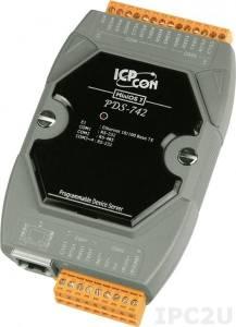 PDS-742 Программируемый Преобразователь последовательных интерфейсов, 3xRS-232, 1xRS-485