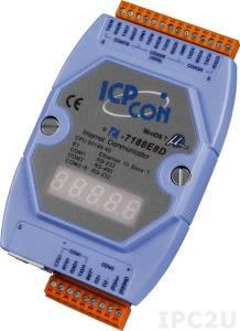 I-7188E8D Программируемый Преобразователь последовательных интерфейсов, 7xRS-232, 1xRS-485, 7-сегментный индикатор