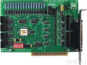 ISO-730 ISA адаптер 16DI, 16DO с гальванической изоляцией, 16DI, 16DO TTL без изоляции