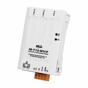 IR-712-MTCP-5 ИК-модуль удаленного управления с Modbus TCP, 2 ИК-выхода, 512 команд, 2xCA-IR-SH2251-5 (ИК передатчик, длина 2,5 м, диаметр штекера 5 мм)